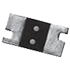 Current sensing chip resistor