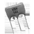 Low Profile Conformally Coated High Precision Voltage Divider Resistor